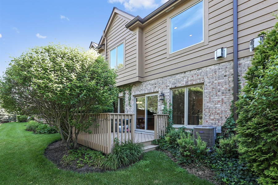 Real Estate Photography - 108 Santa Fe Lane, Willow Springs, IL, 60480 - Back of Home