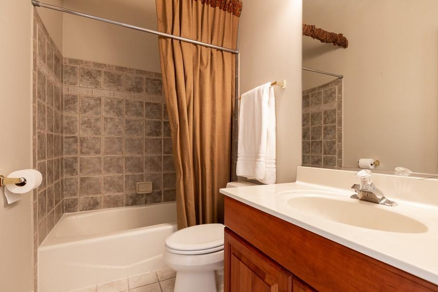 Real Estate Photography - 108 Santa Fe Lane, Willow Springs, IL, 60480 - Bathroom 2