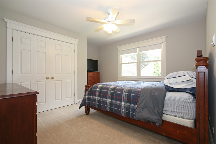Real Estate Photography - 323 Phillippa St, Hinsdale, IL, 60521 - Bedroom