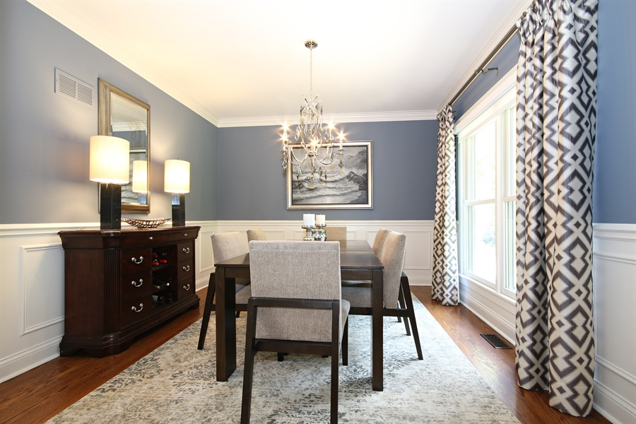 Real Estate Photography - 323 Phillippa St, Hinsdale, IL, 60521 - Dining Room