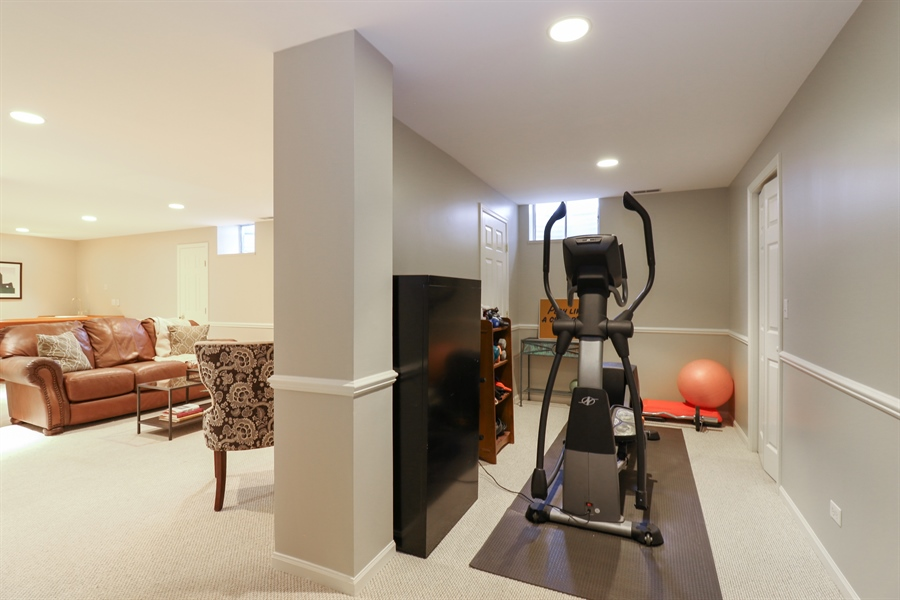 Real Estate Photography - 323 Phillippa St, Hinsdale, IL, 60521 - Basement