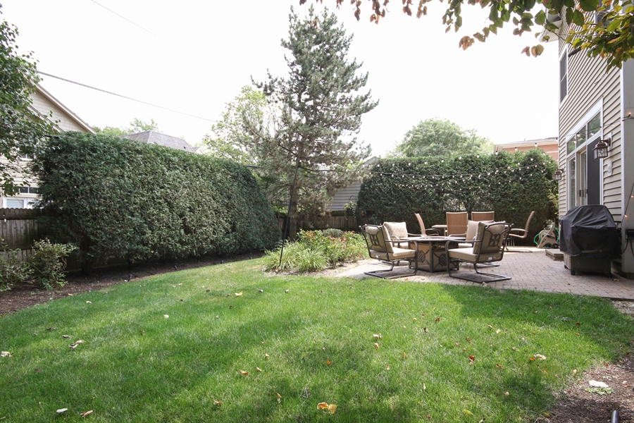 Real Estate Photography - 323 Phillippa St, Hinsdale, IL, 60521 - Back Yard