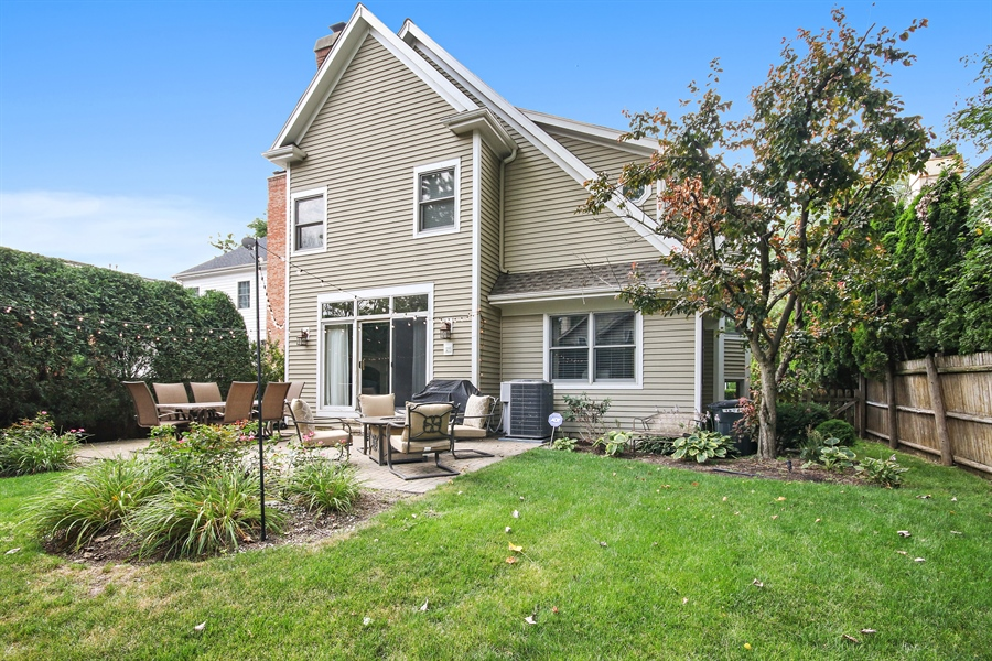 Real Estate Photography - 323 Phillippa St, Hinsdale, IL, 60521 - Rear View
