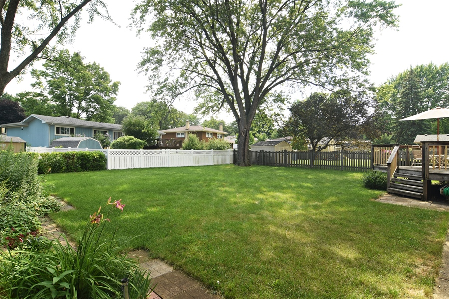 Real Estate Photography - 719 E Ivy Ln, Arlington Heights, IL, 60004 - Back Yard