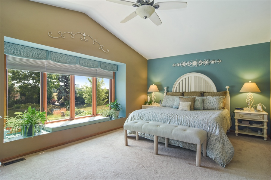 Real Estate Photography - 3614 Killarney Ct, Rolling Meadows, IL, 60008 - Master Bedroom