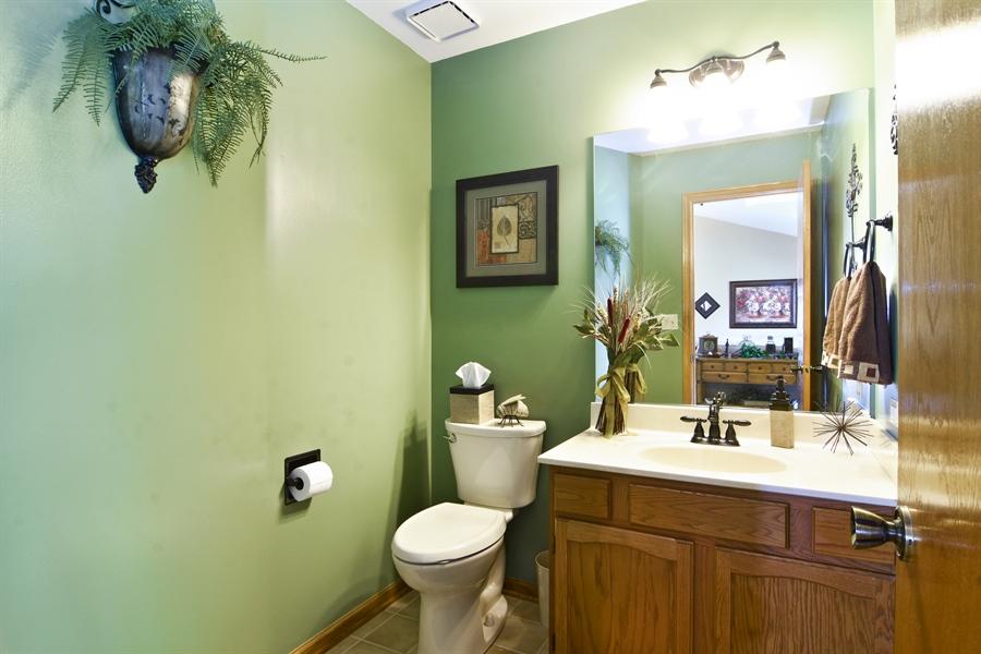 Real Estate Photography - 3614 Killarney Ct, Rolling Meadows, IL, 60008 - Half Bath on Main Floor