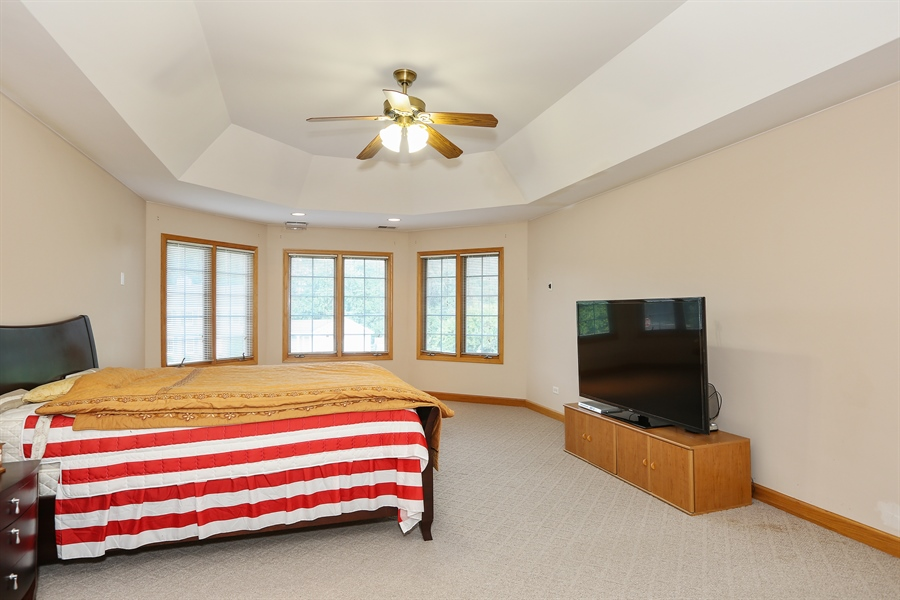 Real Estate Photography - 1204 Richmond Ave., Westmont, IL, 60559 - Master Bedroom