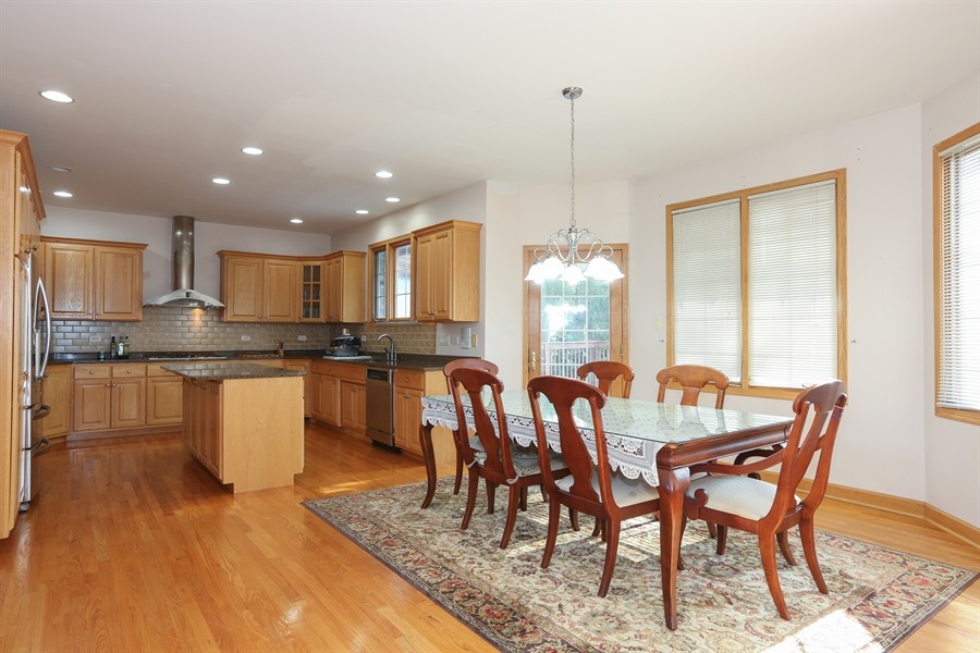 Real Estate Photography - 1204 Richmond Ave., Westmont, IL, 60559 - Kitchen / Breakfast Room
