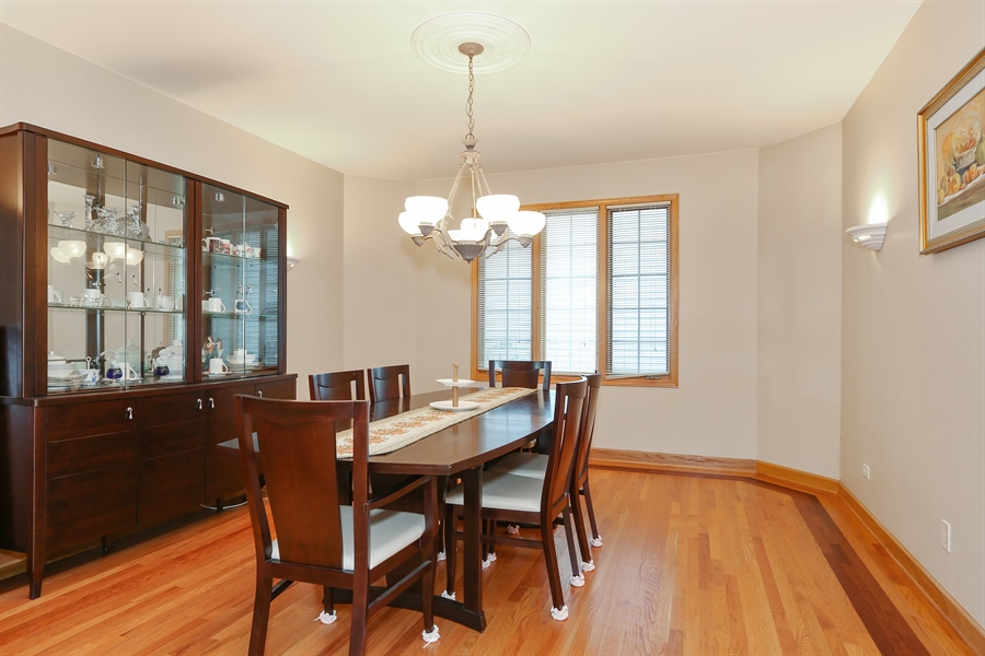 Real Estate Photography - 1204 Richmond Ave., Westmont, IL, 60559 - Dining Room