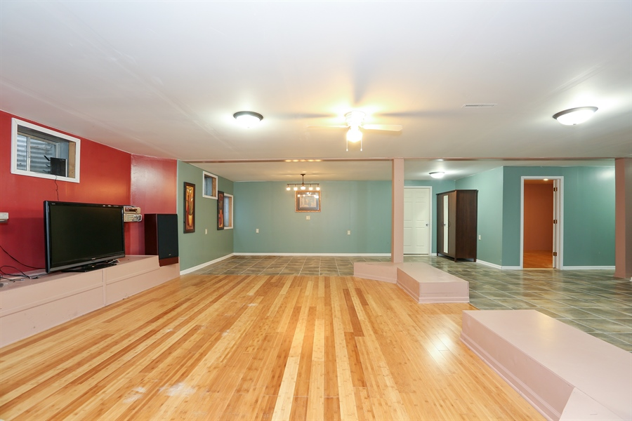 Real Estate Photography - 1204 Richmond Ave., Westmont, IL, 60559 - Recreation Room