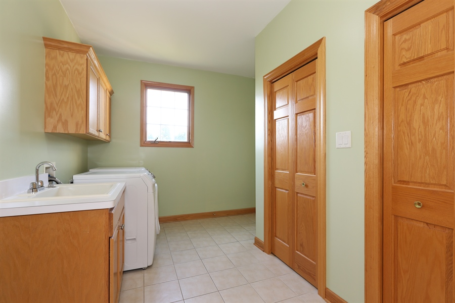 Real Estate Photography - 1204 Richmond Ave., Westmont, IL, 60559 - Laundry Room / Mud Room
