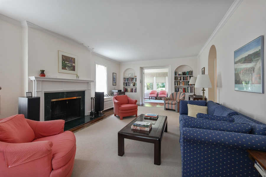 Real Estate Photography - 2306 Lincolnwood Dr, Evanston, IL, 60201 - Living Room