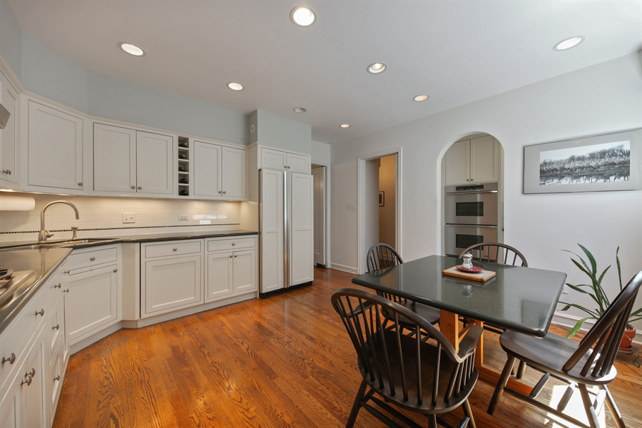Real Estate Photography - 2306 Lincolnwood Dr, Evanston, IL, 60201 - Kitchen