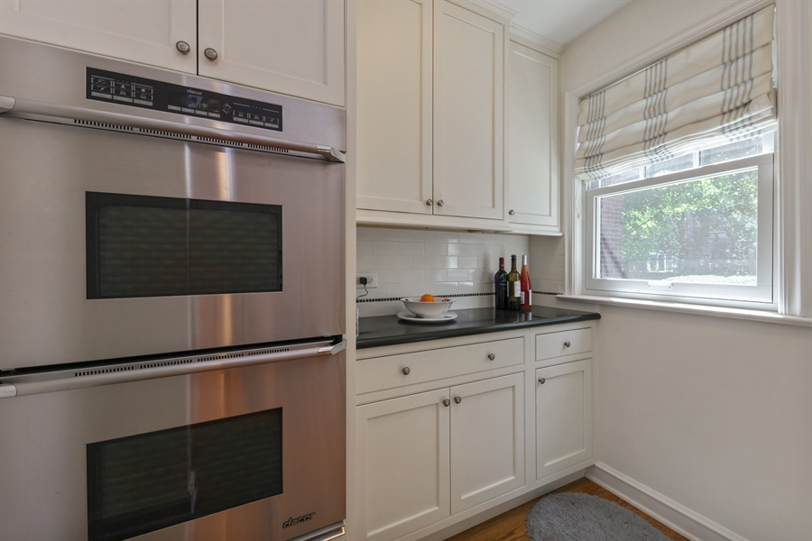 Real Estate Photography - 2306 Lincolnwood Dr, Evanston, IL, 60201 - Butler's pantry