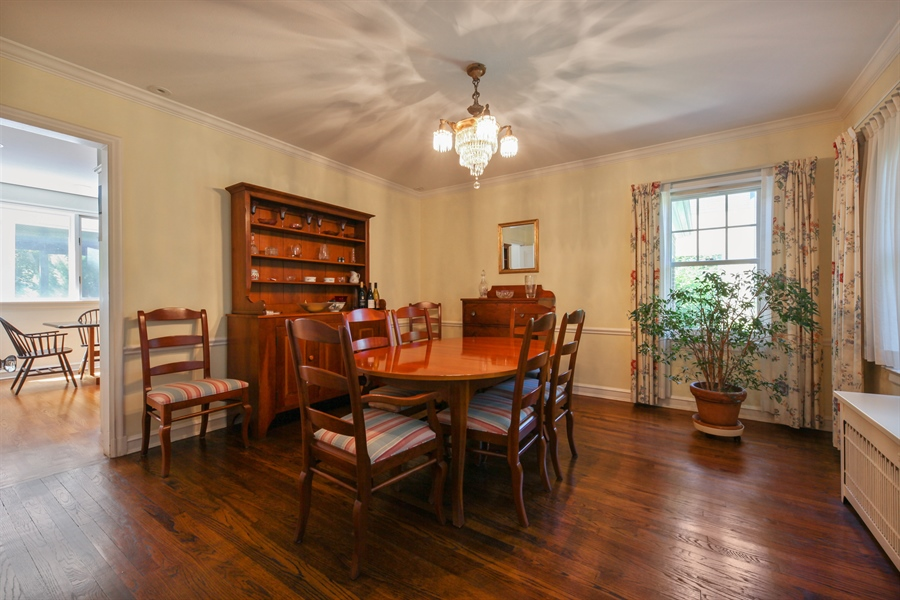 Real Estate Photography - 2306 Lincolnwood Dr, Evanston, IL, 60201 - Dining Room