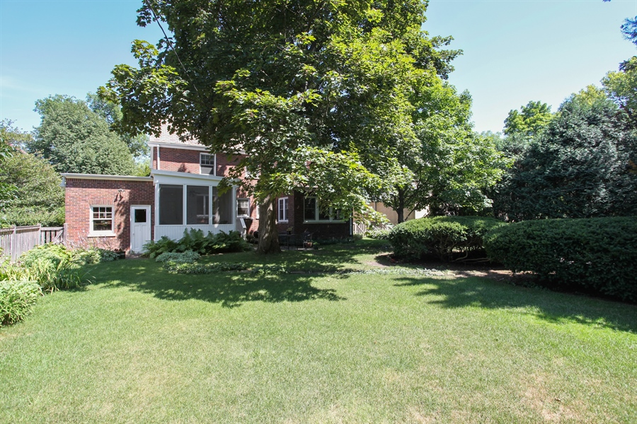 Real Estate Photography - 2306 Lincolnwood Dr, Evanston, IL, 60201 - Rear View