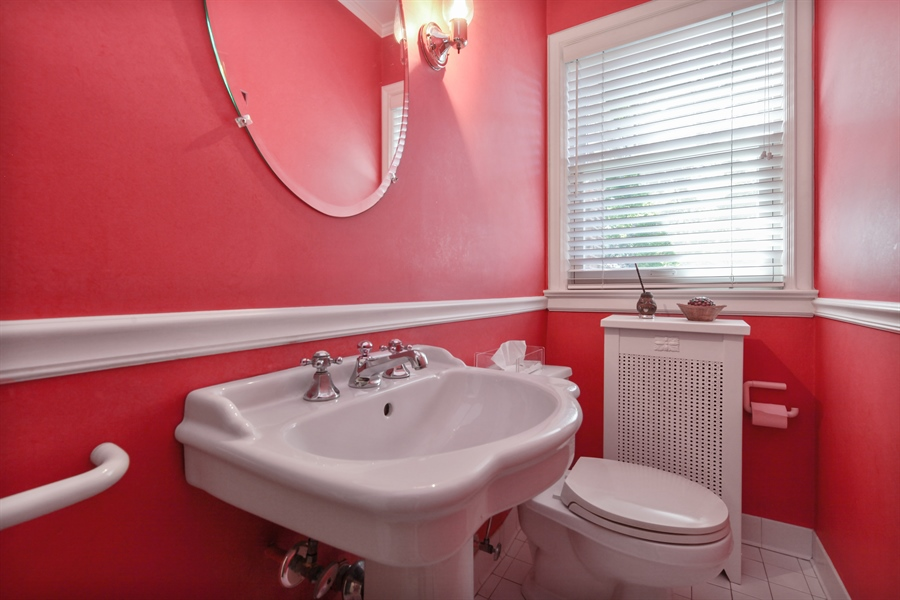 Real Estate Photography - 2306 Lincolnwood Dr, Evanston, IL, 60201 - Half Bath