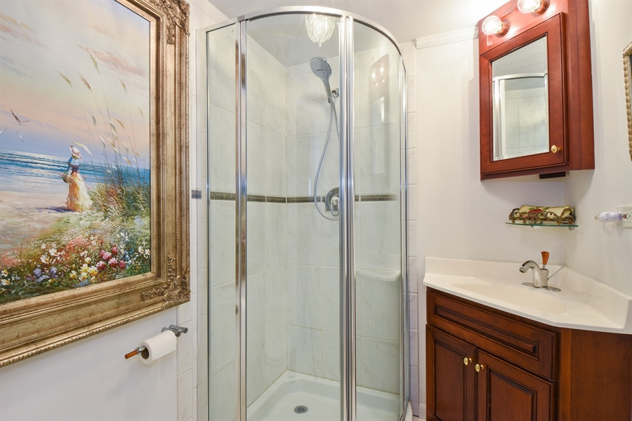 Real Estate Photography - 250 Wyngate, Barrington, IL, 60010 - 3rd Bathroom