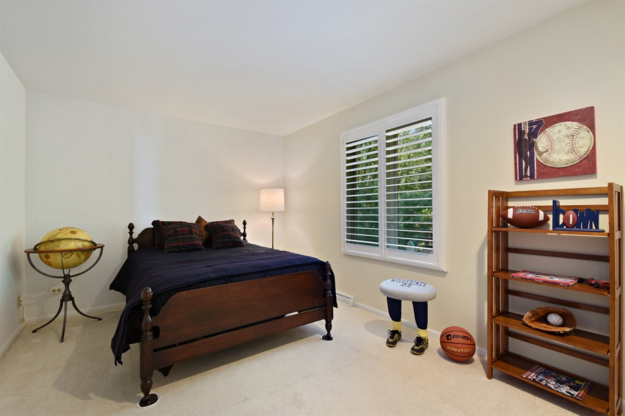 Real Estate Photography - 250 Wyngate, Barrington, IL, 60010 - 2nd Bedroom