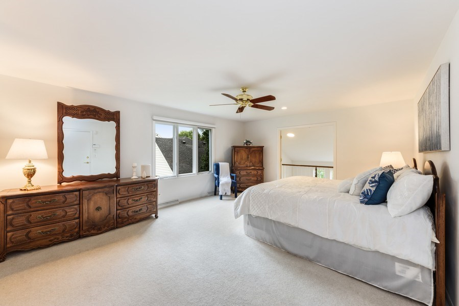 Real Estate Photography - 250 Wyngate, Barrington, IL, 60010 - Master Bedroom