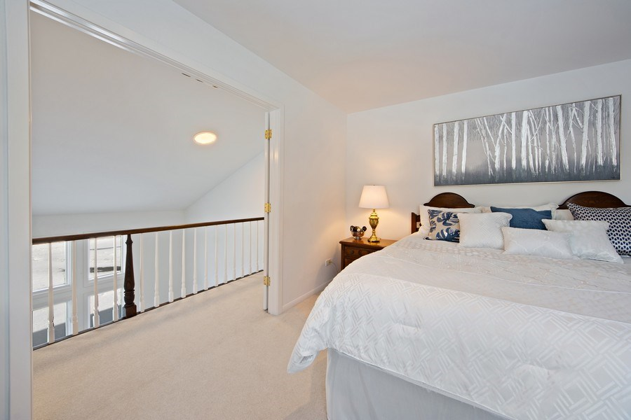 Real Estate Photography - 250 Wyngate, Barrington, IL, 60010 - Master Bedroom & Loft