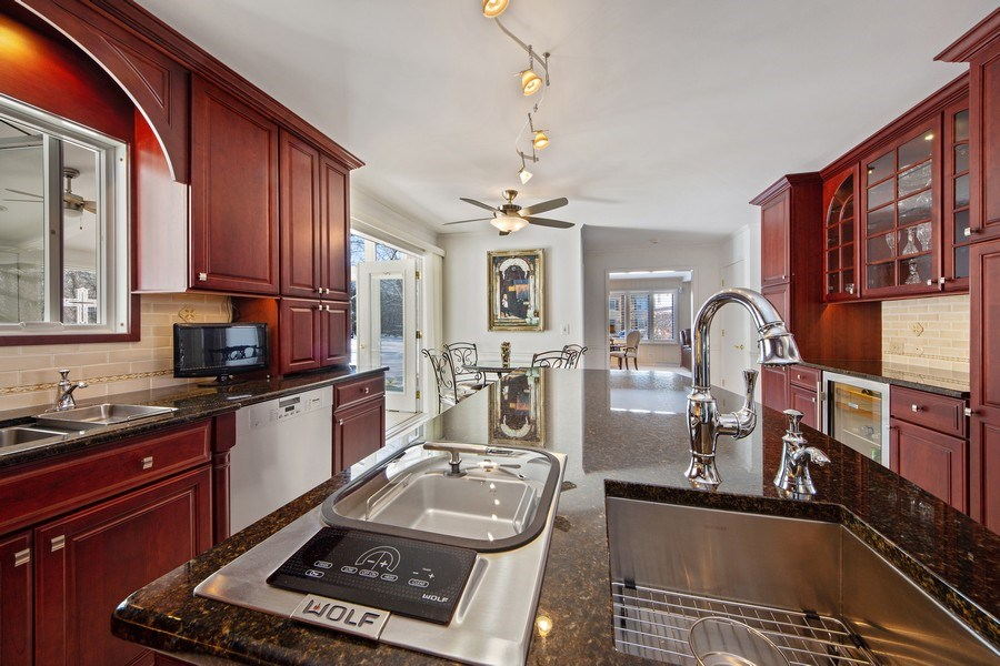 Real Estate Photography - 250 Wyngate, Barrington, IL, 60010 - Delight In Your Own Chefs Kitchen