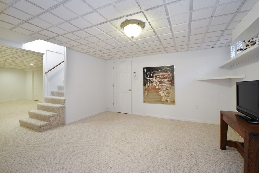 Real Estate Photography - 250 Wyngate, Barrington, IL, 60010 - Basement