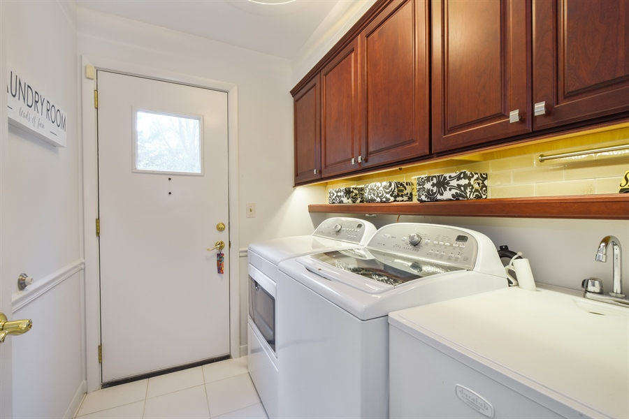 Real Estate Photography - 250 Wyngate, Barrington, IL, 60010 - Laundry Room