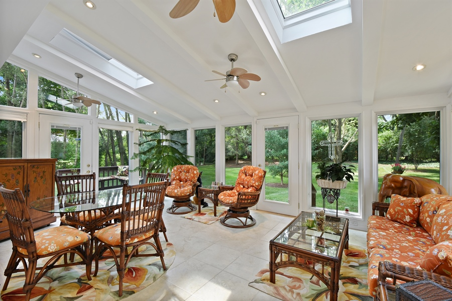 Real Estate Photography - 250 Wyngate, Barrington, IL, 60010 - Sun Room