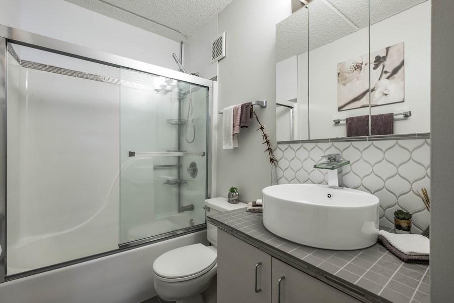 Real Estate Photography - 2024 Saint Johns Ave, 302, Highland Park, IL, 60035 - Master Bathroom