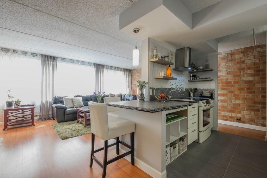 Real Estate Photography - 2024 Saint Johns Ave, 302, Highland Park, IL, 60035 - Breakfast Area