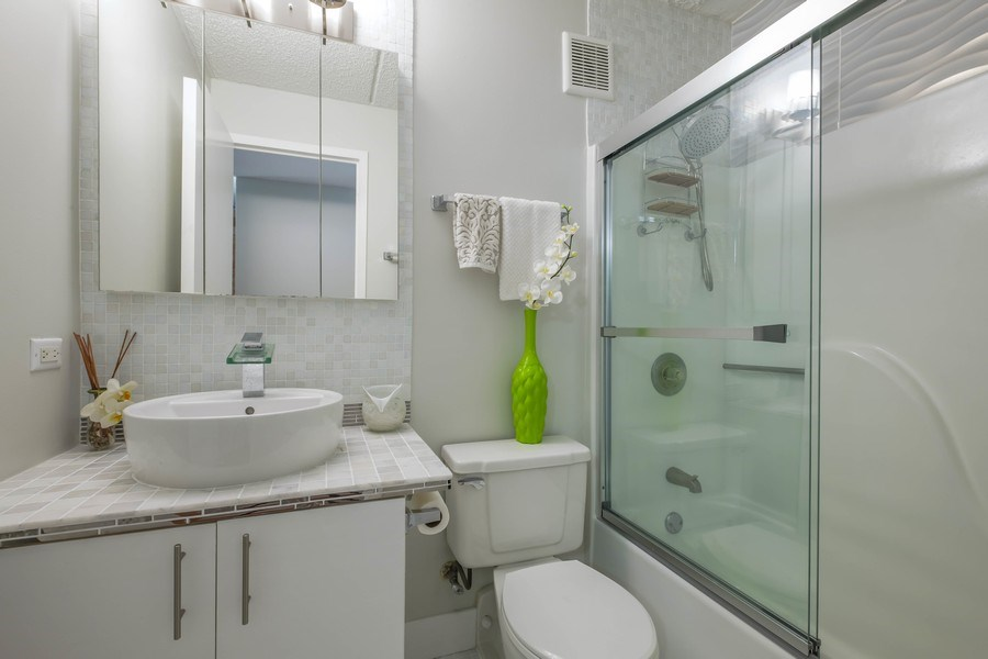 Real Estate Photography - 2024 Saint Johns Ave, 302, Highland Park, IL, 60035 - Bathroom