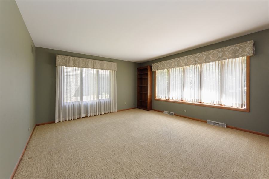Real Estate Photography - 3420 Richnee Lane, Rolling Meadows, IL, 60008 - Living Room