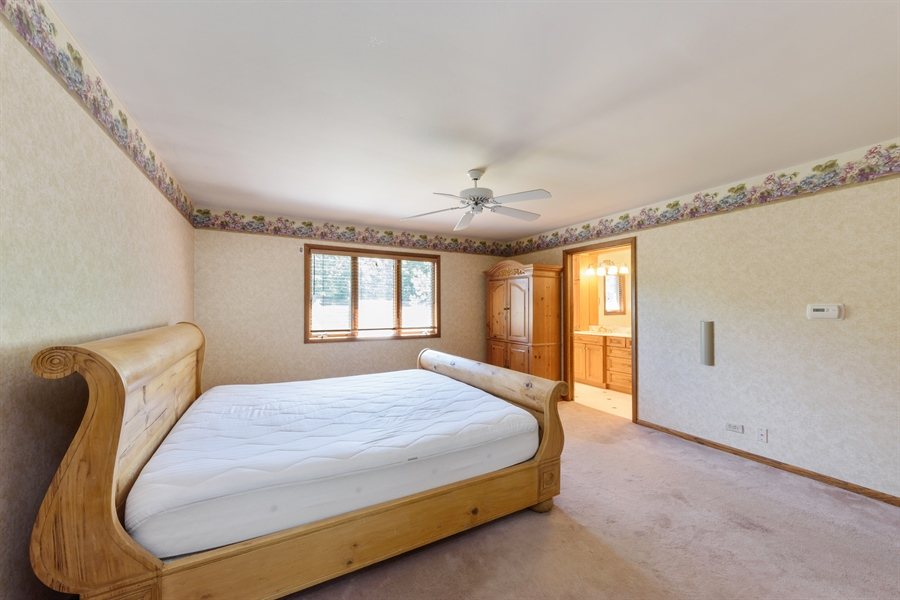 Real Estate Photography - 3420 Richnee Lane, Rolling Meadows, IL, 60008 - Master Bedroom