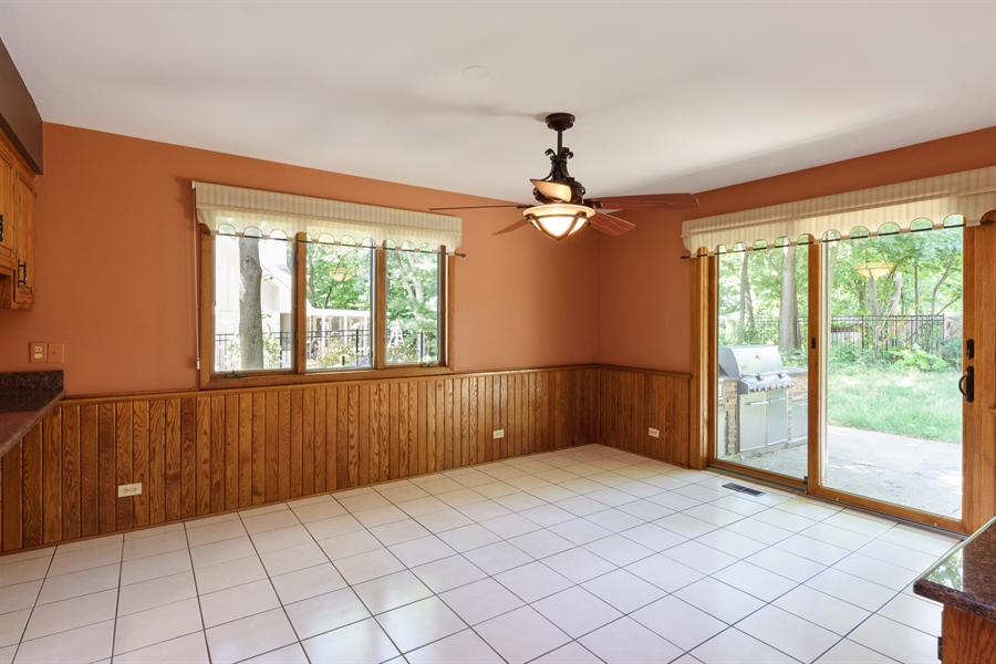 Real Estate Photography - 3420 Richnee Lane, Rolling Meadows, IL, 60008 - Breakfast Area