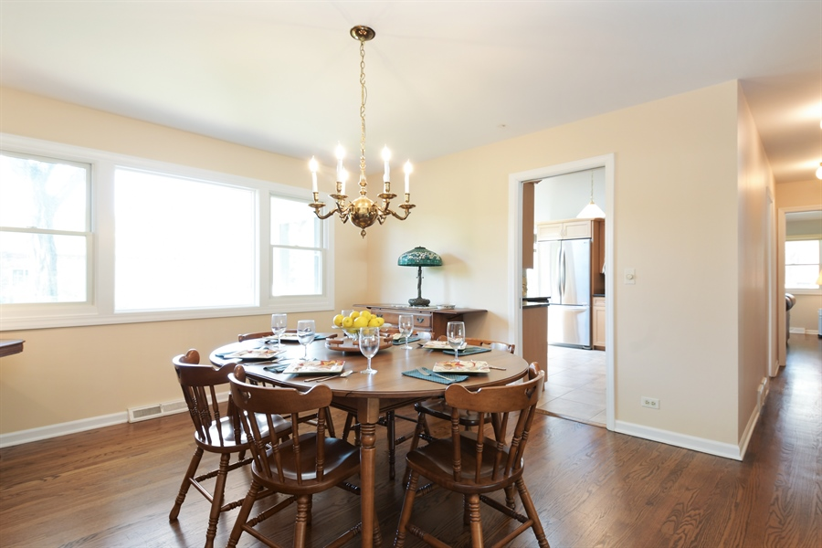 Real Estate Photography - 1680 Portage Pass, Deerfield, IL, 60015 - Dining Room