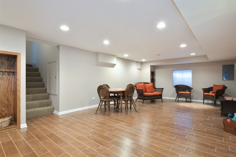 Real Estate Photography - 1680 Portage Pass, Deerfield, IL, 60015 - Basement