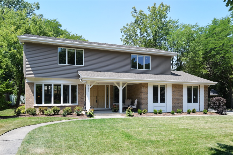 Real Estate Photography - 1680 Portage Pass, Deerfield, IL, 60015 - Front View