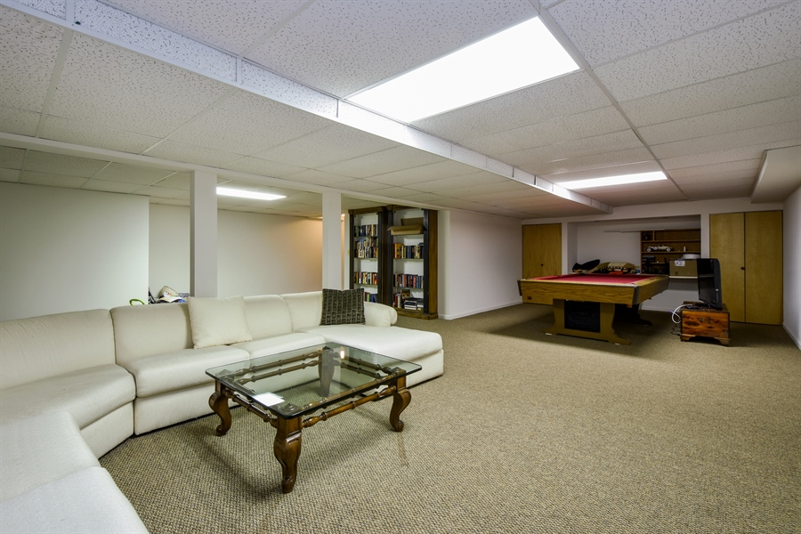 Real Estate Photography - 2538 Shenandoah Lane, Long Grove, IL, 60047 - Basement