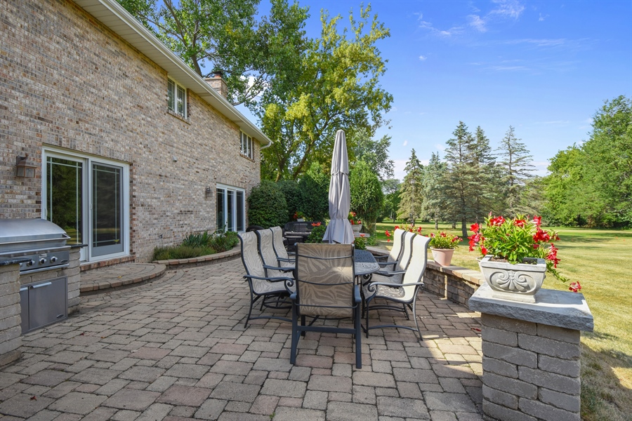 Real Estate Photography - 2538 Shenandoah Lane, Long Grove, IL, 60047 - Patio