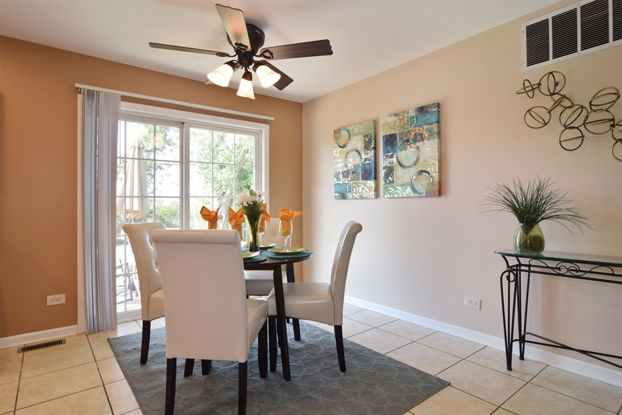 Real Estate Photography - 441 Walnut Ln, Elk Grove Village, IL, 60007 - Dining Room