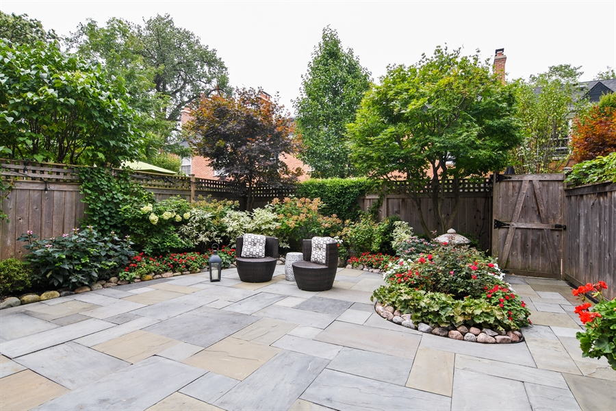 Real Estate Photography - 905 Westerfield Drive, Wilmette, IL, 60091 - Patio