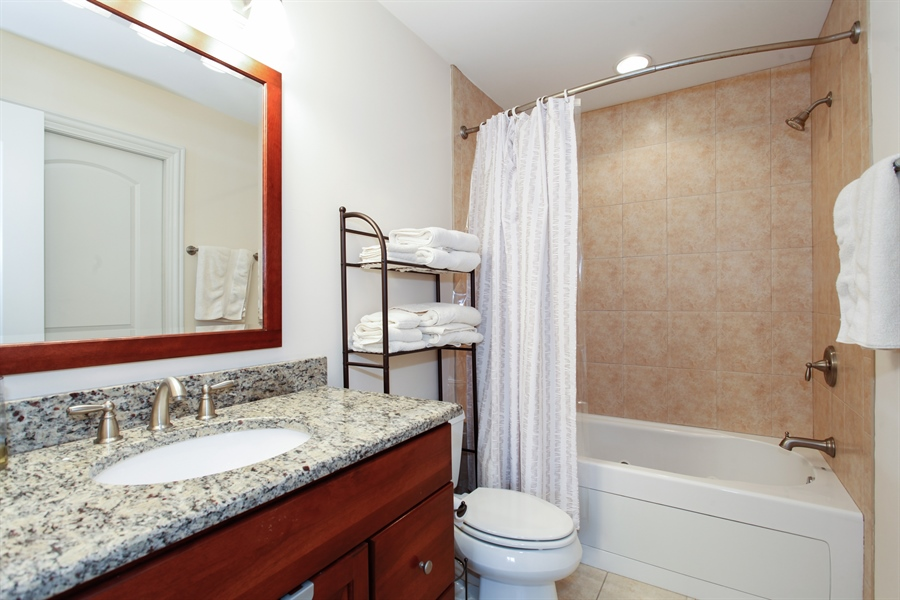 Real Estate Photography - 4305 Eberly, Brookfield, IL, 60513 - Master Bathroom