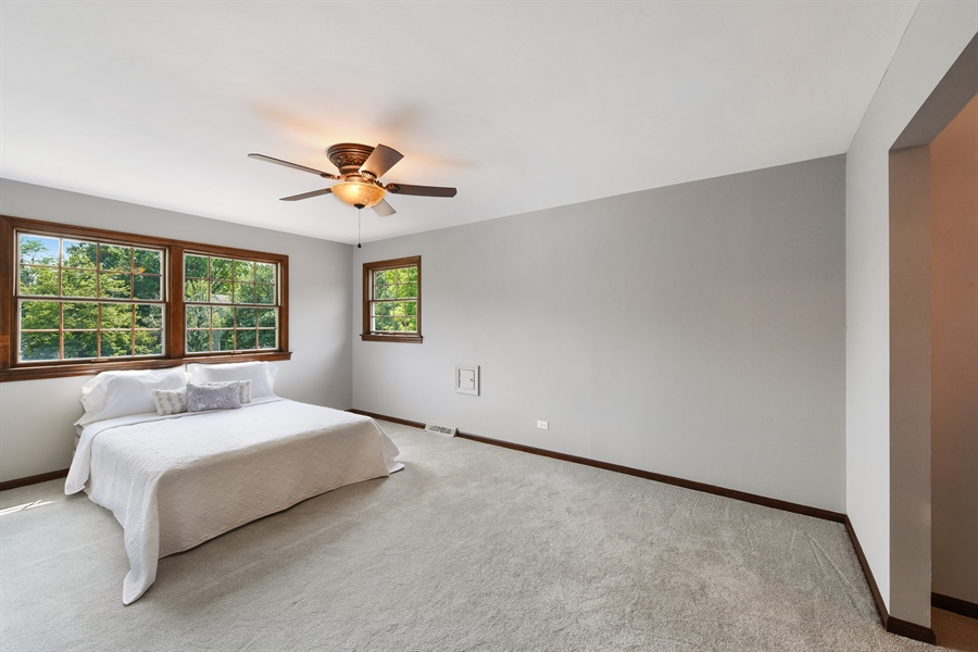 Real Estate Photography - 1212 Barneswood, Downers Grove, IL, 60515 - Master Bedroom
