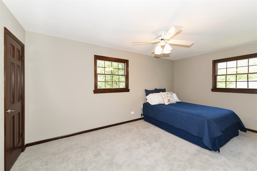 Real Estate Photography - 1212 Barneswood, Downers Grove, IL, 60515 - 2nd Bedroom