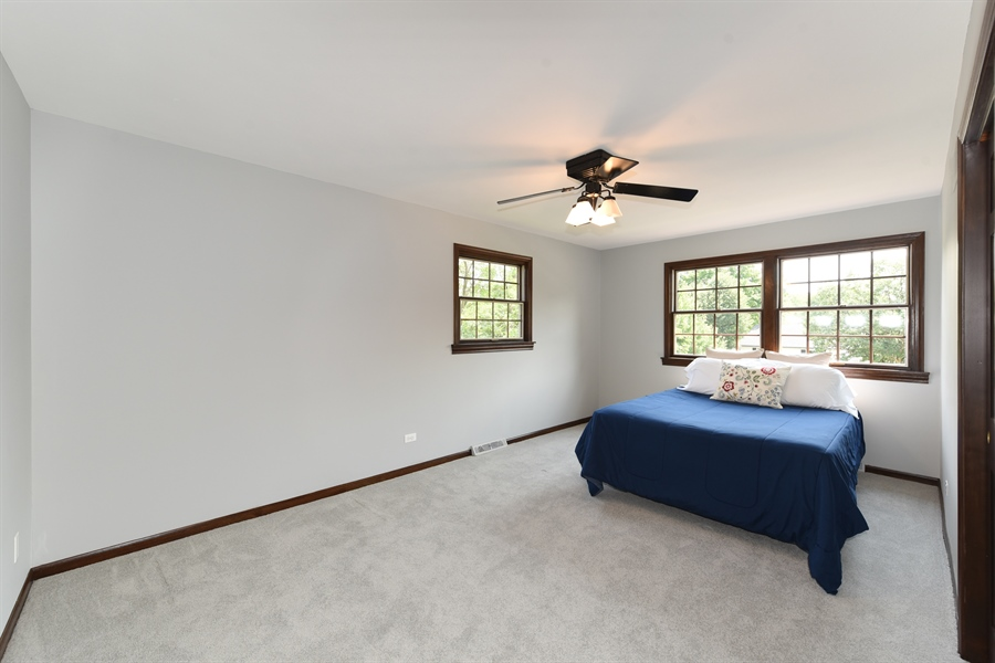 Real Estate Photography - 1212 Barneswood, Downers Grove, IL, 60515 - Bedroom
