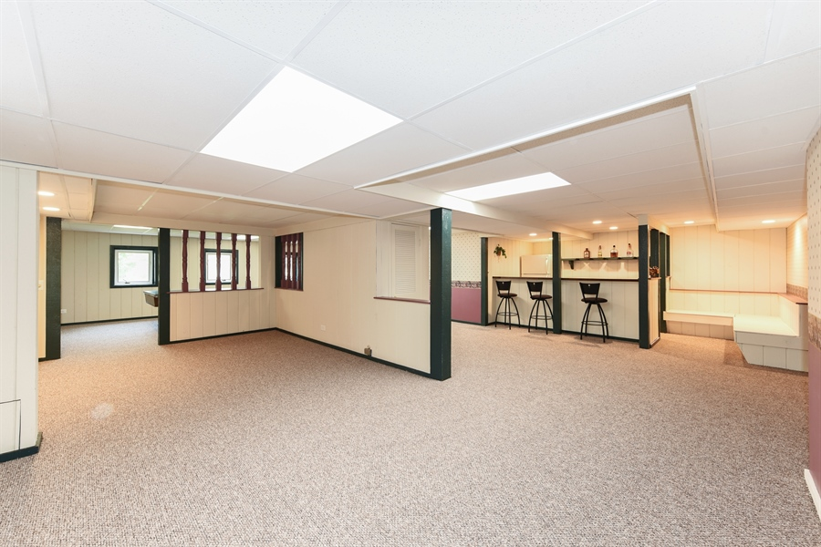 Real Estate Photography - 1212 Barneswood, Downers Grove, IL, 60515 - Basement