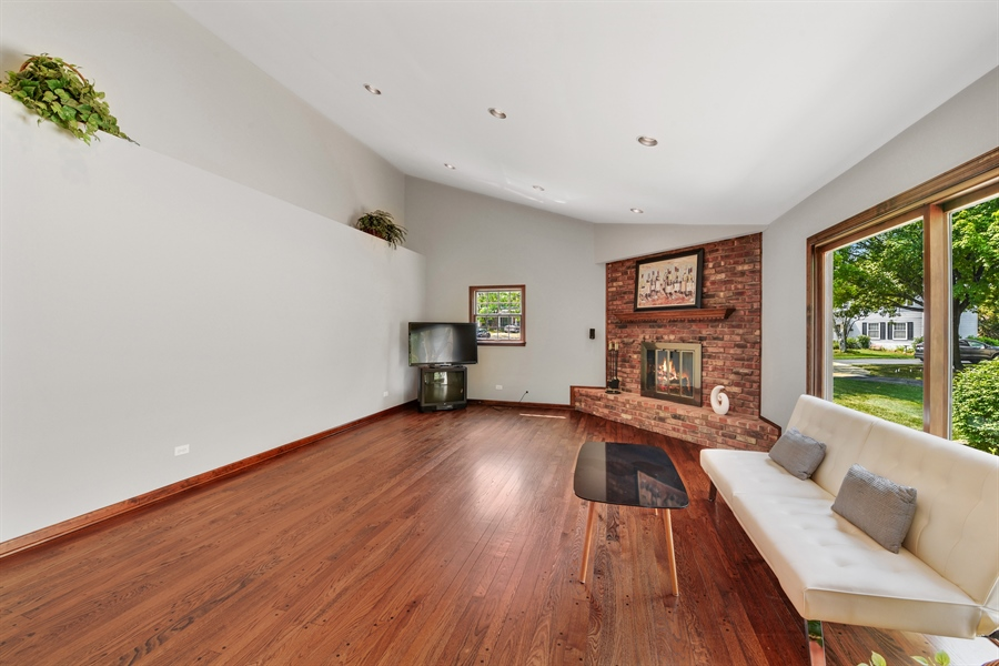 Real Estate Photography - 1212 Barneswood, Downers Grove, IL, 60515 - Family Room
