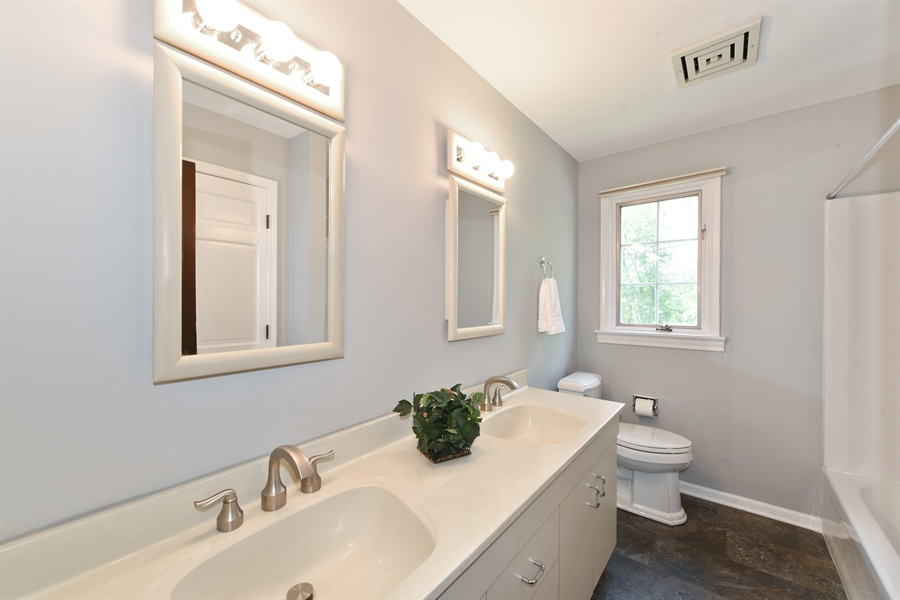 Real Estate Photography - 1212 Barneswood, Downers Grove, IL, 60515 - Bathroom