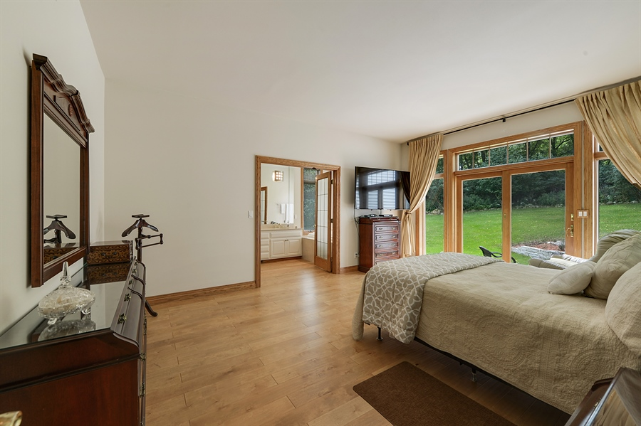 Real Estate Photography - n17w30595 woodland hill drive, delafield, WI, 53018 - Master Bedroom